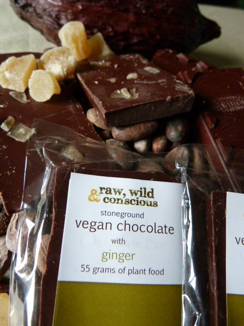 Image of Ginger Chocolate Bar - Click For More Details