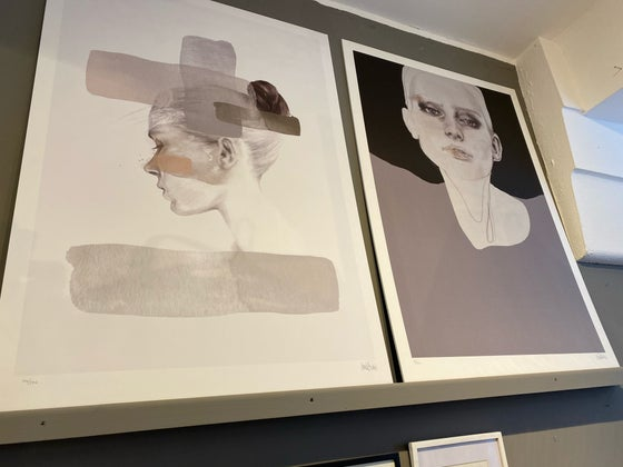Image of OVERSIZED WALL ART - Mounted on board 70x100cm