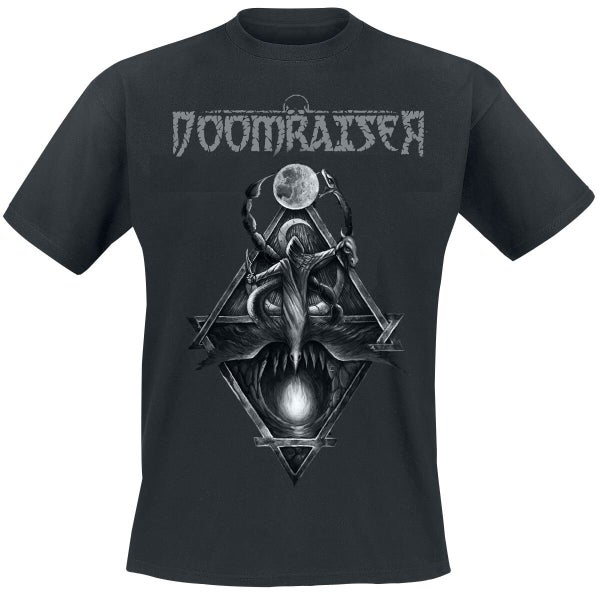"Image of Doomraiser T-SHIRT ""The Dark Side Of Old Europa"""
