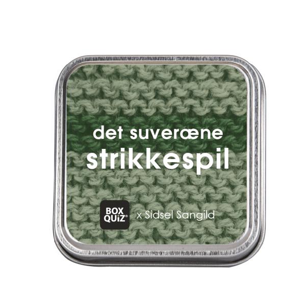 Image of Det suveræne strikkespil