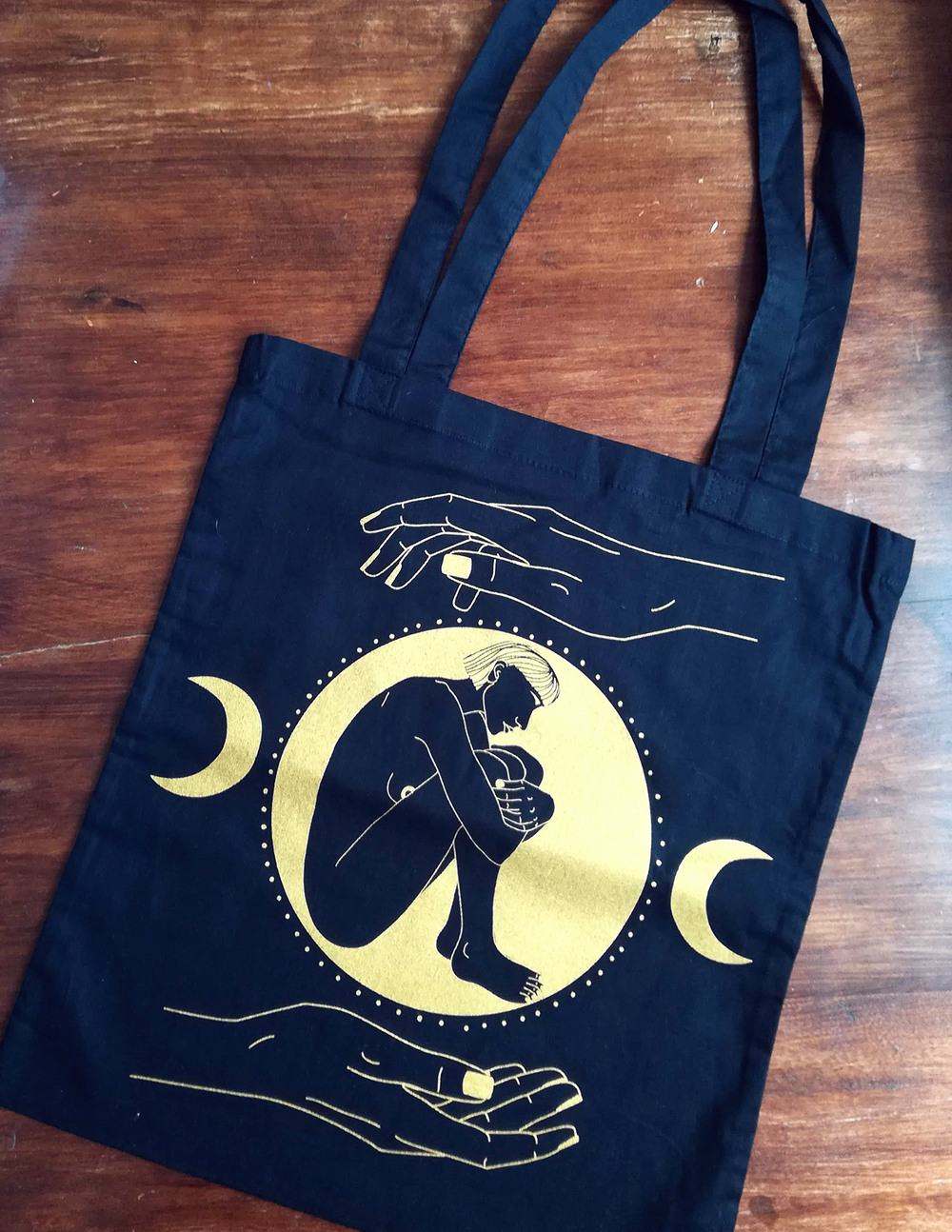 "Image of ""HOLD YOUR OWN"" - Tote bag"