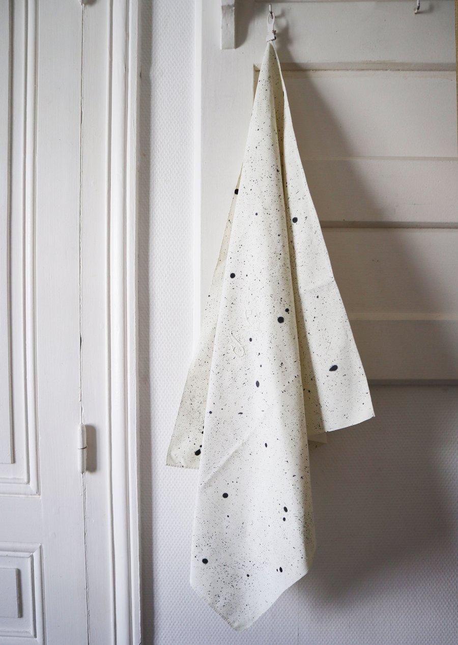 Image of Collection Paulette - Grande serviette de table Claudette