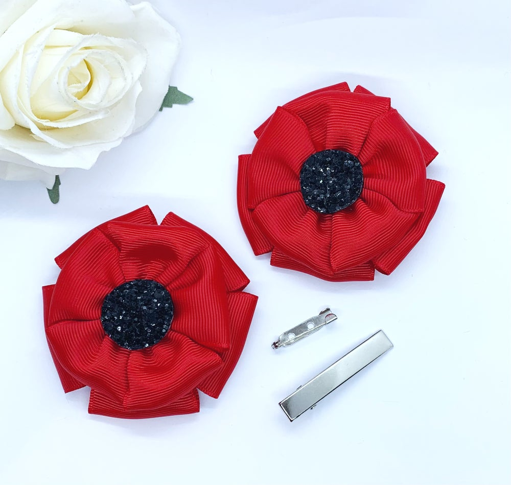 Image of Handmade poppy