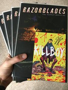 Image of RAZORBLADES: The Horror Magazine #1 - Print Edition, First Run /500