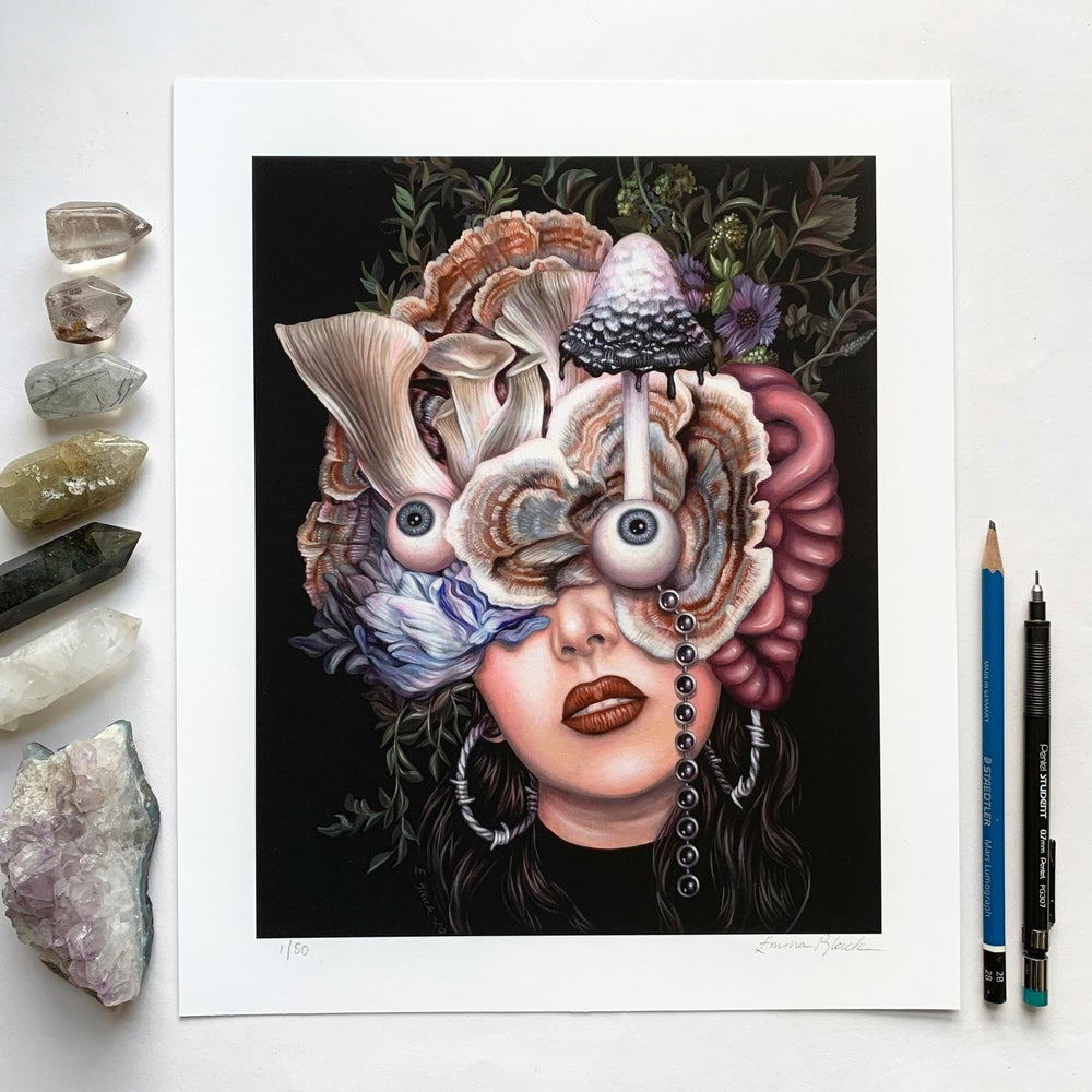 Image of Limited Edition 'Dream of the Withering Forest' Giclée Print