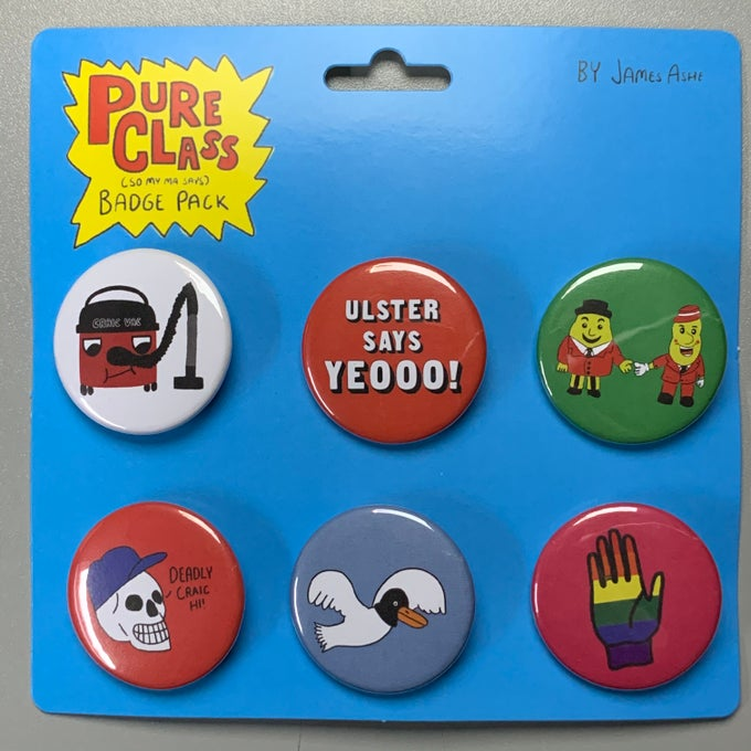 Image of Pure Class Badges