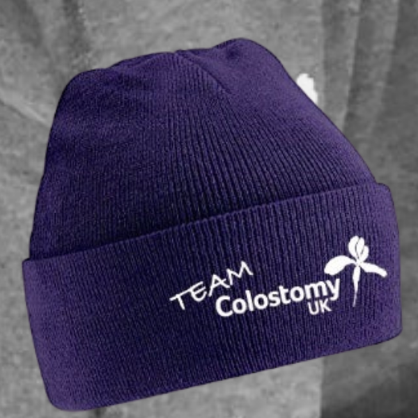 Image of Team Colostomy UK Beanie hat