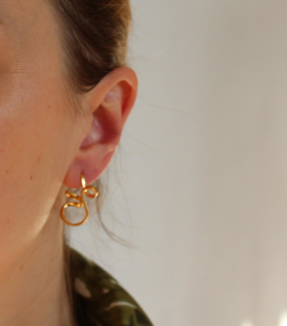 Image of ampersand earrings