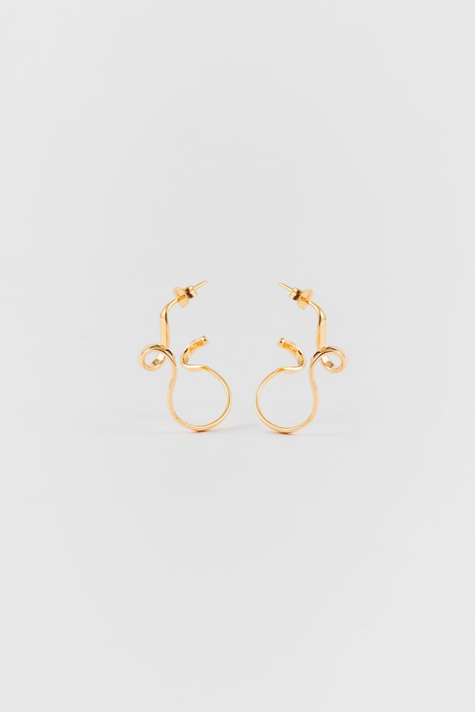Image of ampersand earrings
