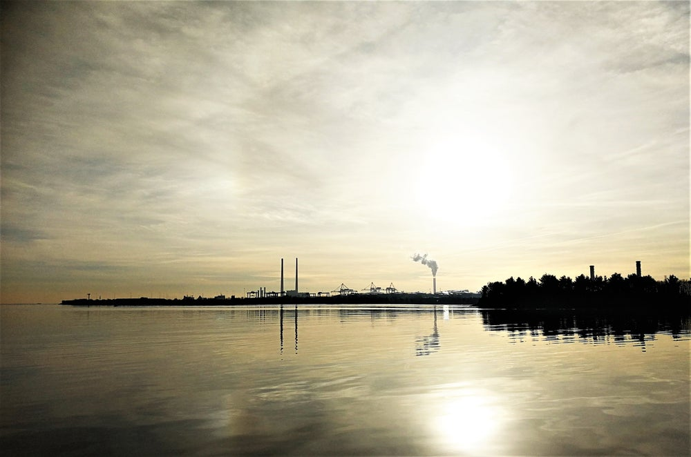 Image of poolbeg view