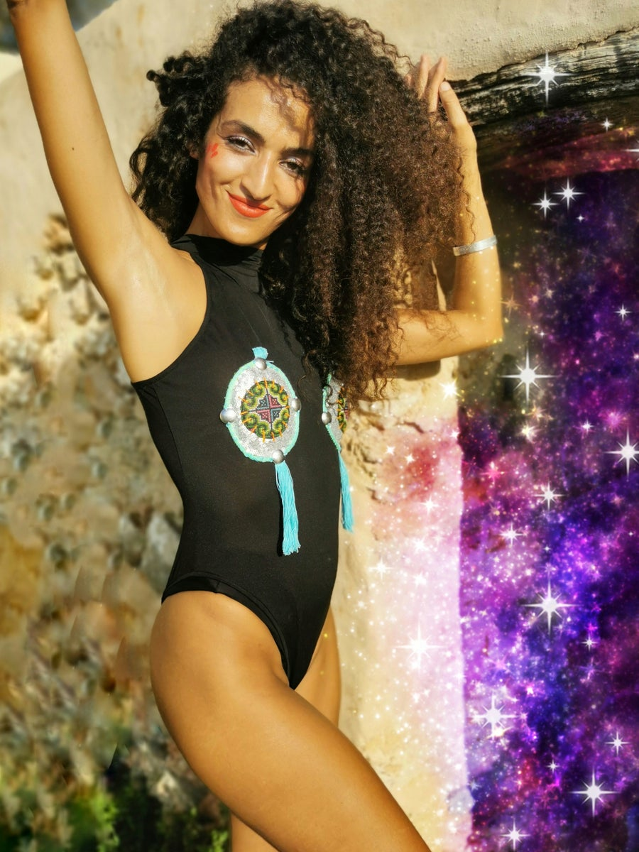 Image of Cosmic Door Bodysuit