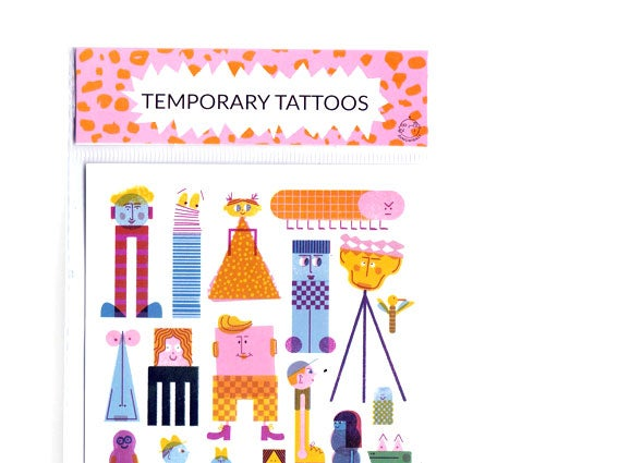 Image of TEMPORARY TATTOOS Friends
