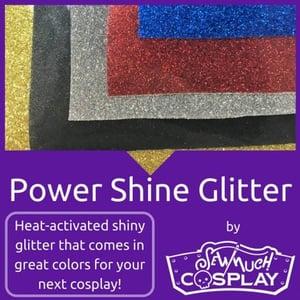 Power Shine Glitter Iron On Vinyl