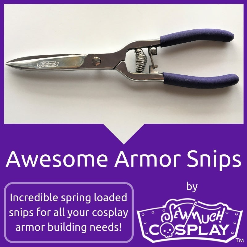Sew Much Cosplay Awesome Armor Snips