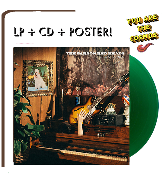 THE PARSON RED HEADS Lifetime of Comedy LP+CD+Poster