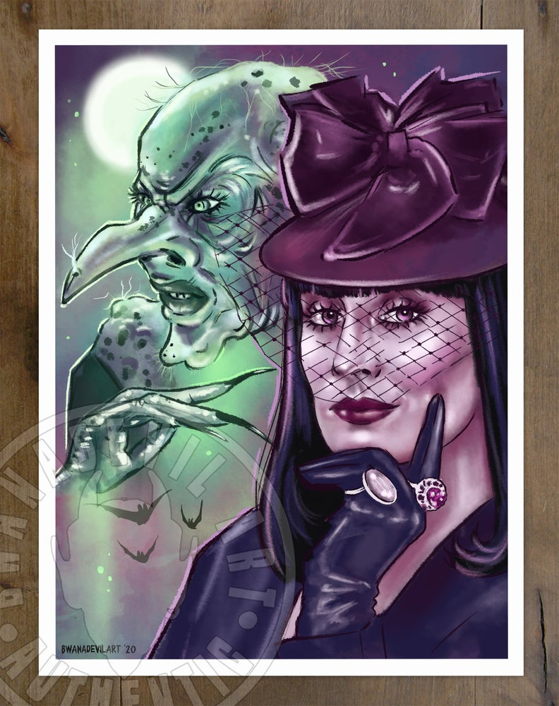 Image of The Witches (Grand High Witch) Art Print 9x12 in.