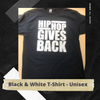 HHGB Letter Tee - Black & White