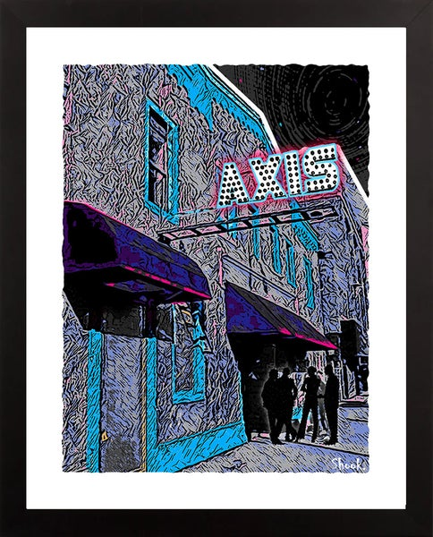 "Image of Axis Boston Giclée Art Print - 11"" x 14"""