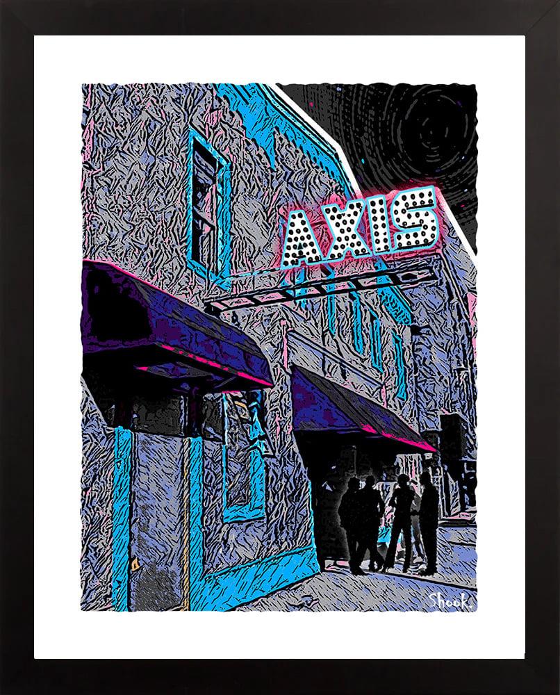 "Axis Boston Giclée Art Print - 11"" x 14"""