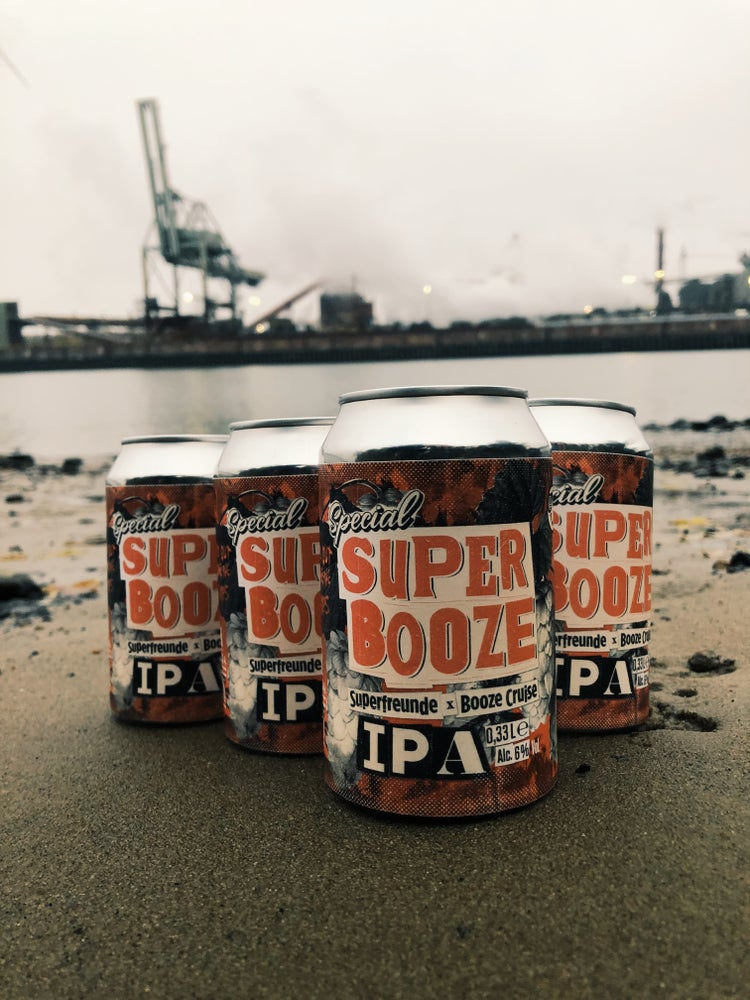 Image of SUPER BOOZE IPA • 4 Pack