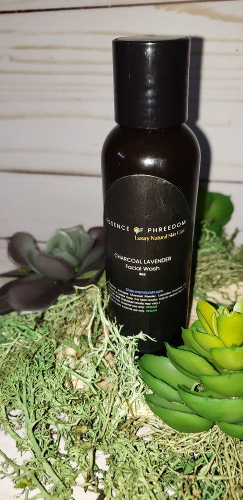 Image of Charcoal Lavender Facial Wash