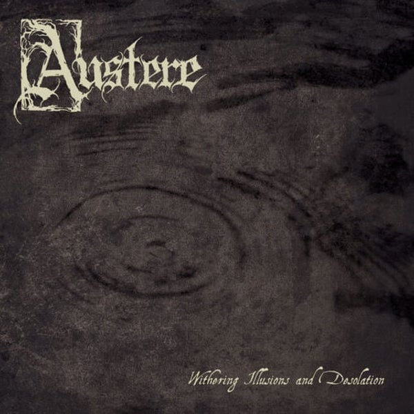 "Image of Austere - Withering Illusions And Desolation 12"" LP"