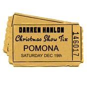Image of DARREN HANLON -  POMONA - SATURDAY 19th DEC - $26