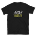 Image of Aktive Hustler T-Shirt - Black/Yellow