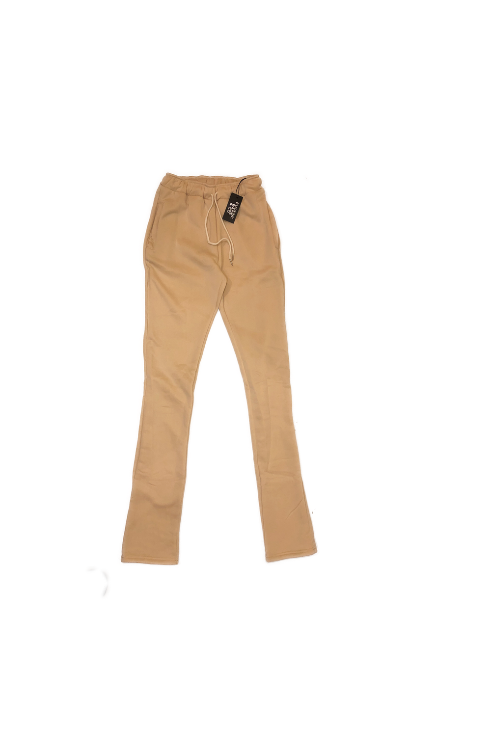 STACKED PANTS (Beige)