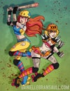 Dangerous Derby Dames PRINT