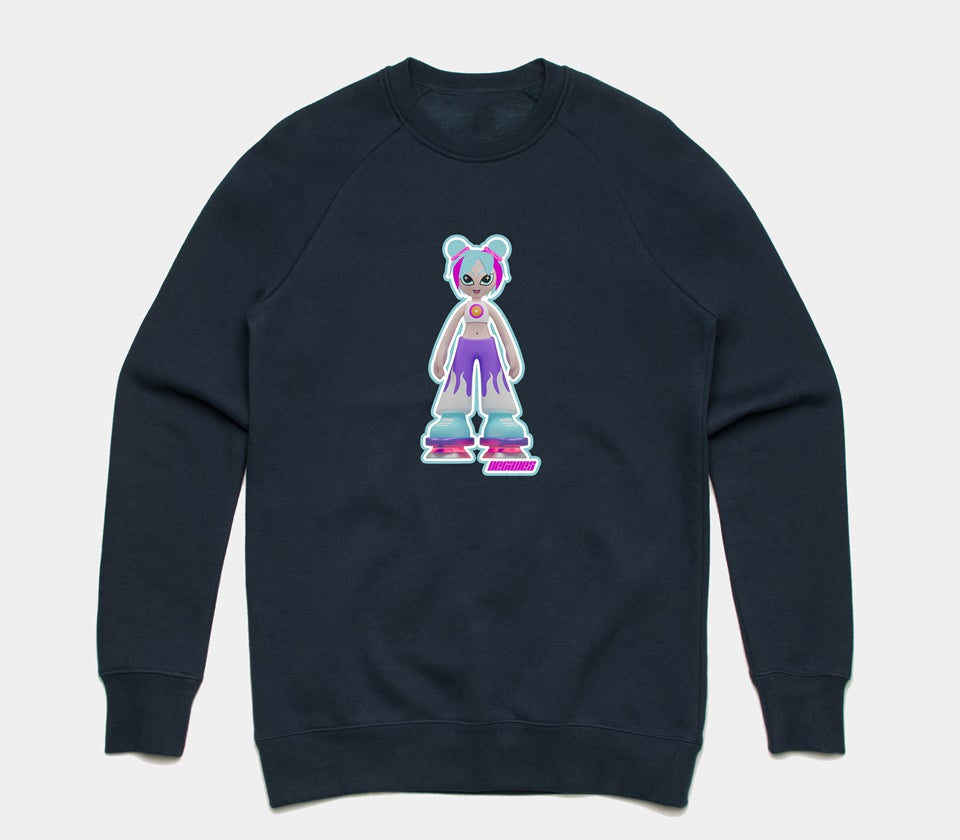 Image of Dancemania Crewneck Navy