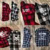WEAREVILLAINS premium flannel button ups