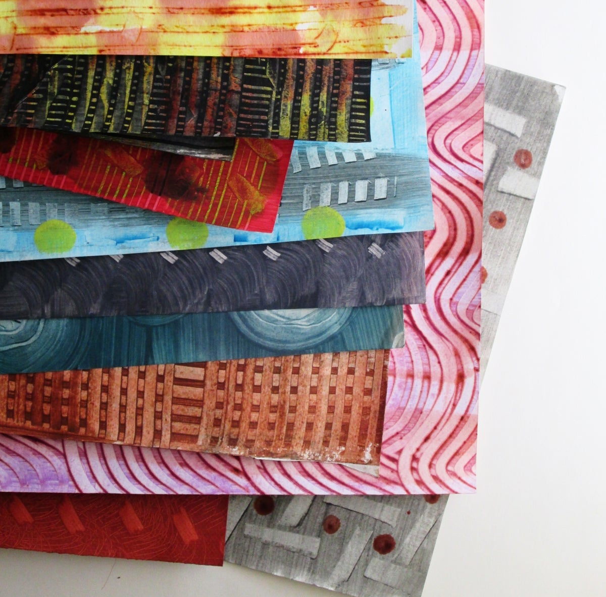 Image of January Members Day: Paste Paper