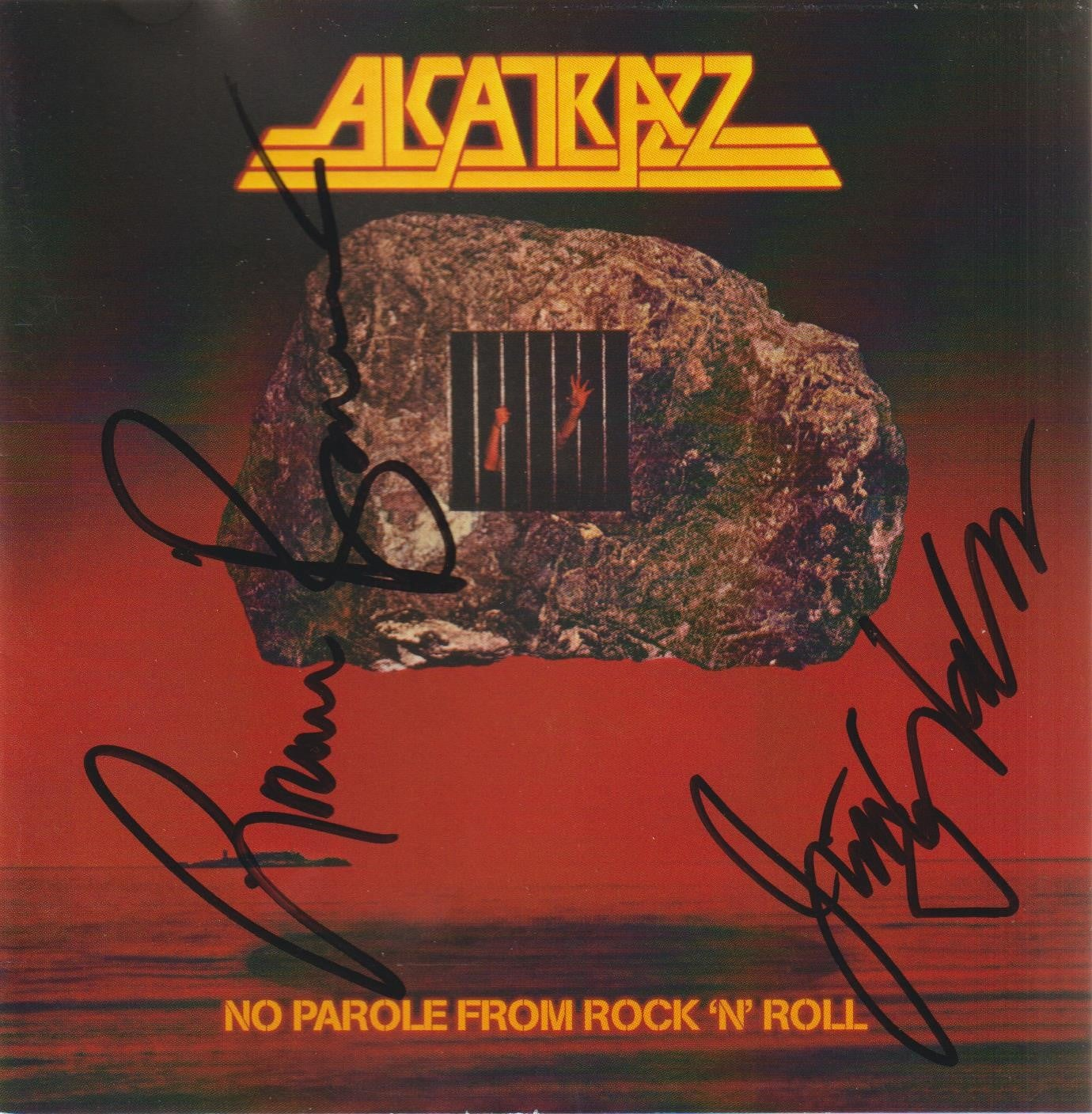 Image of ALCATRAZZ - No Parole From Rock 'N' Roll - Autographed CD
