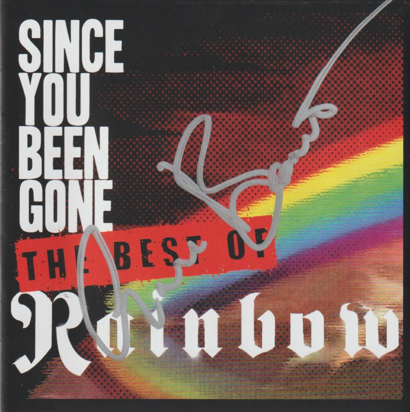 Image of RAINBOW - Since You Been Gone / The Best Of Rainbow - CD Autographed