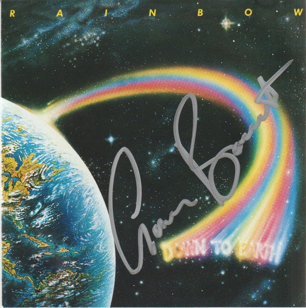 Image of RAINBOW - Down To Earth - CD Autographed