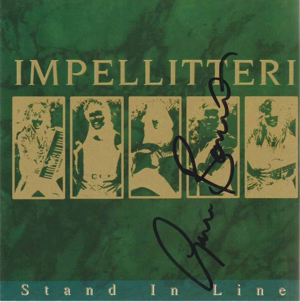 Image of IMPELLITTERI - Stand In Line - CD Autographed