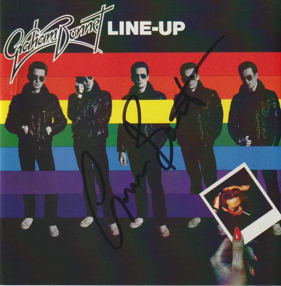 Image of GRAHAM BONNET - Line-Up - CD Autographed