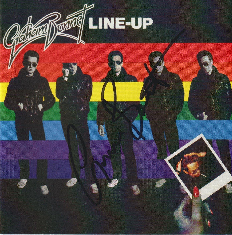 Image of GRAHAM BONNET - Line-Up - CD Autographed