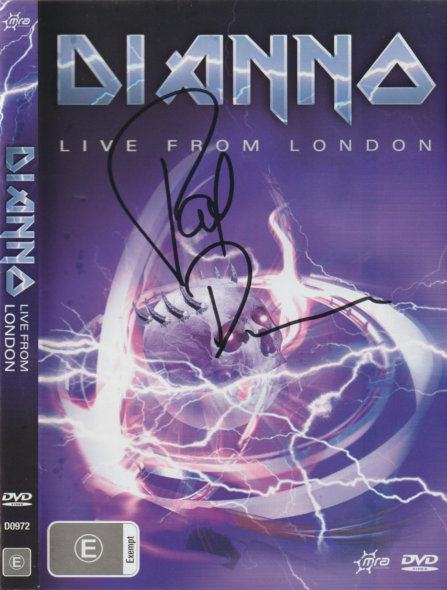Image of PAUL DIANNO - Live From London - DVD Autographed