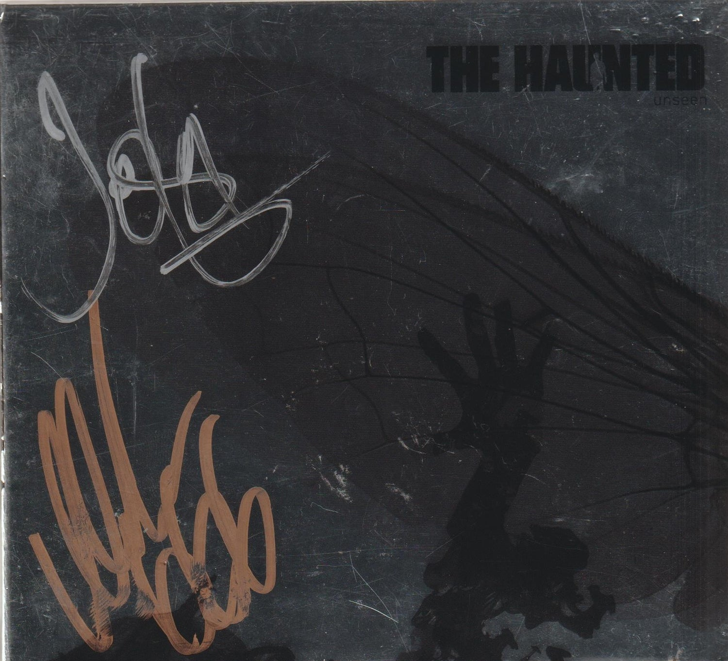Image of THE HAUNTED - Unseen - Limited Silver DIGI CD Autographed