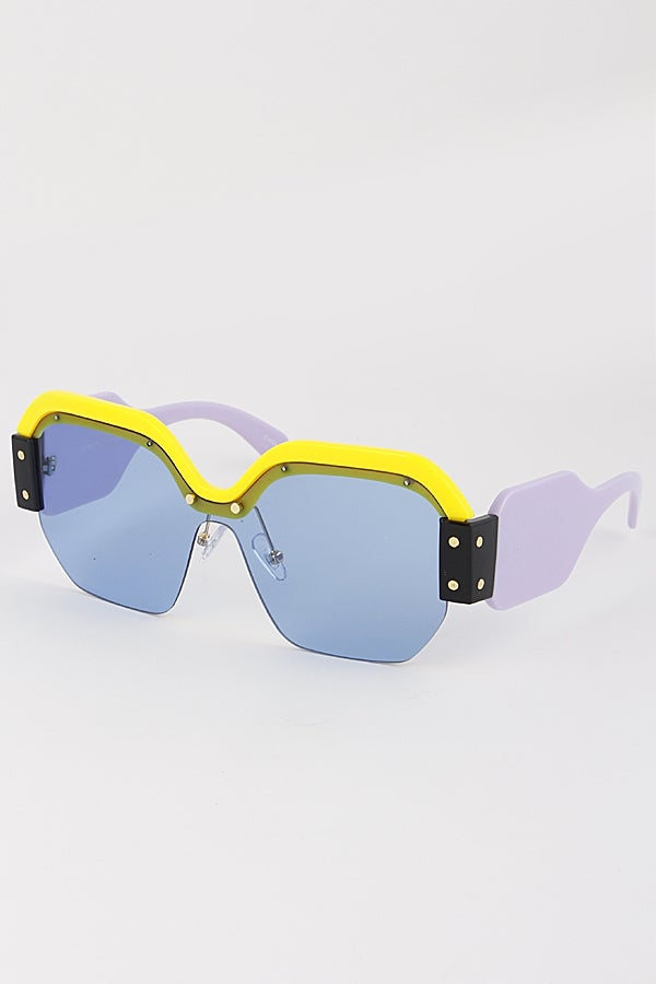Image of Oversized Fashion Sunglasses