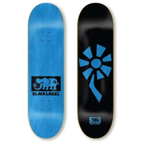 "Image of Flower Power 8.5"" black/blue"
