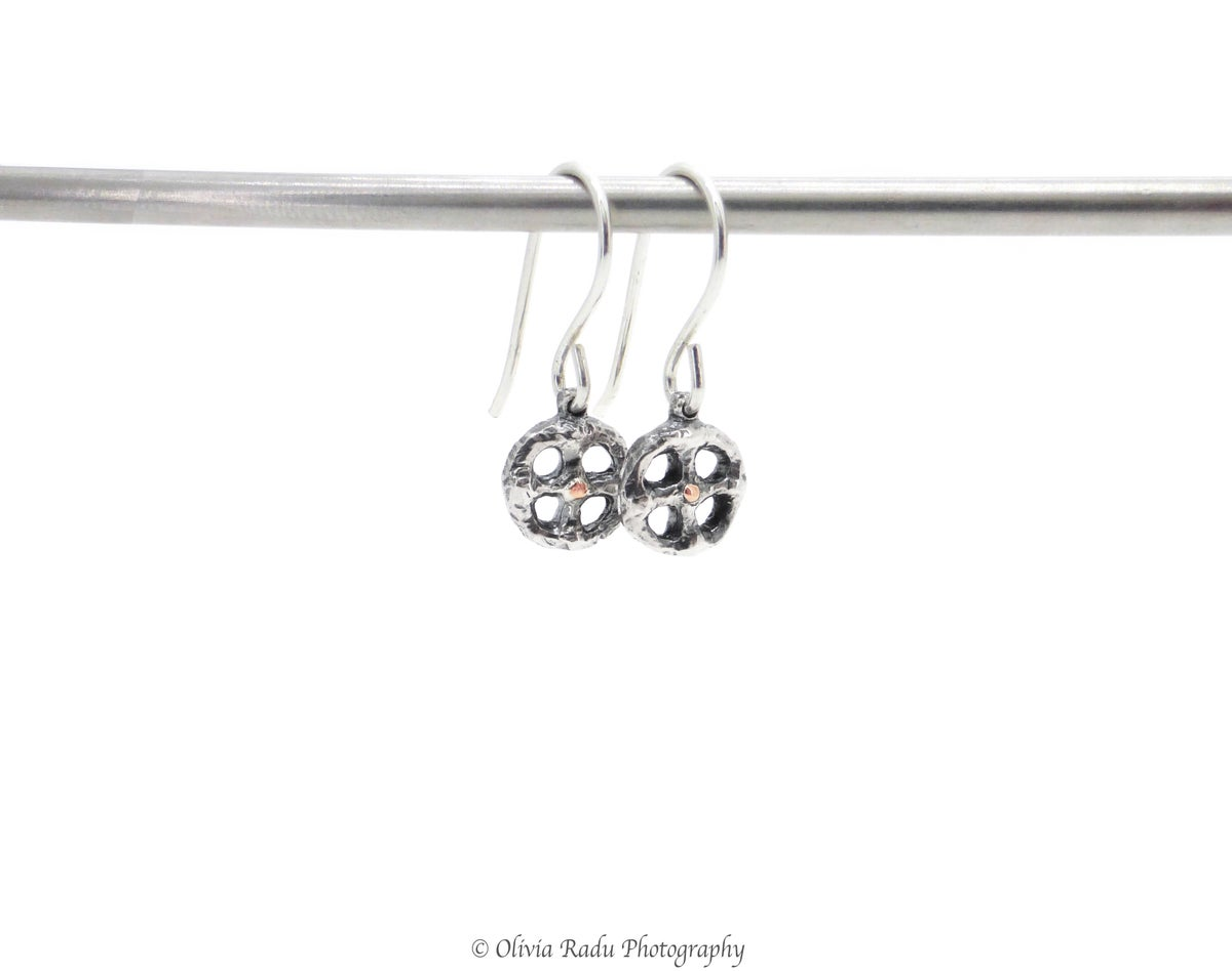 Sunwheel - earrings