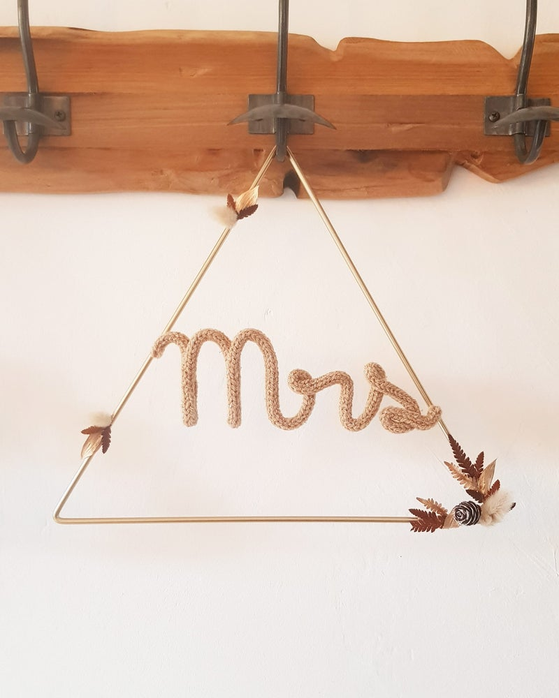 Image of Mrs & Mr - Mariage