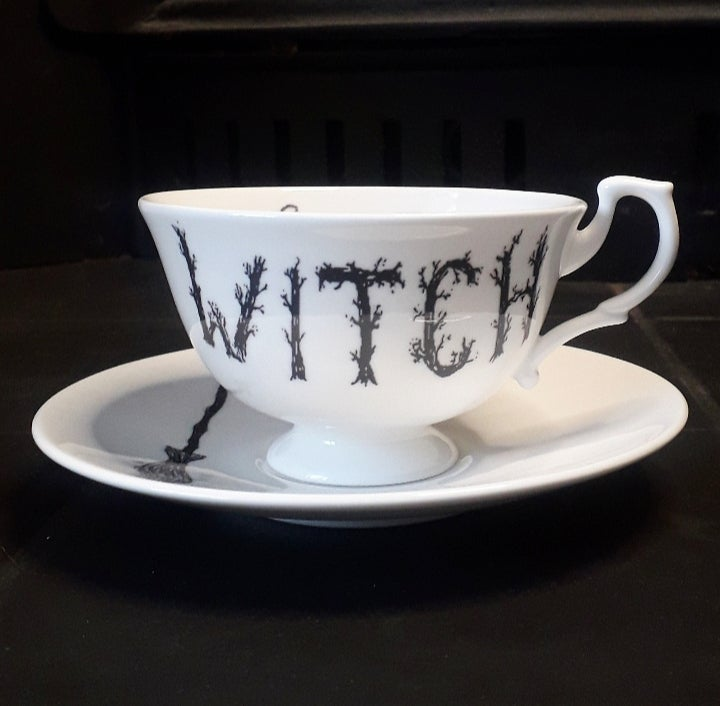Image of Witch teacup & saucer