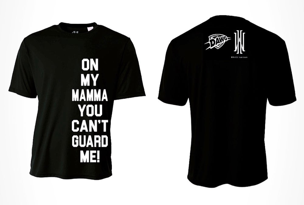 "Image of ""On My Momma"" T Shirt(Whit3 Iverson - Limited Edition Collab)"