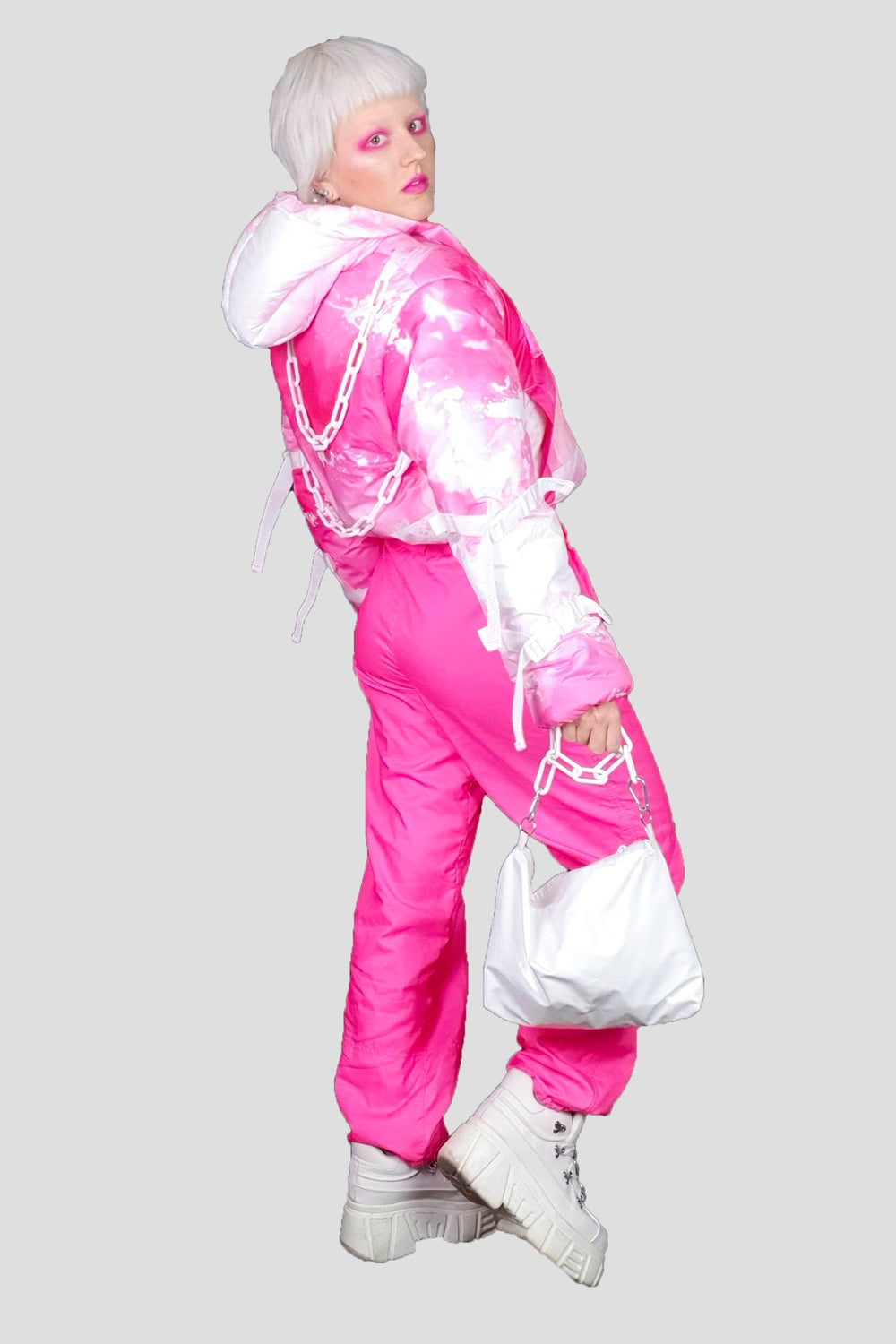 Image of Pink Puffy Jacket