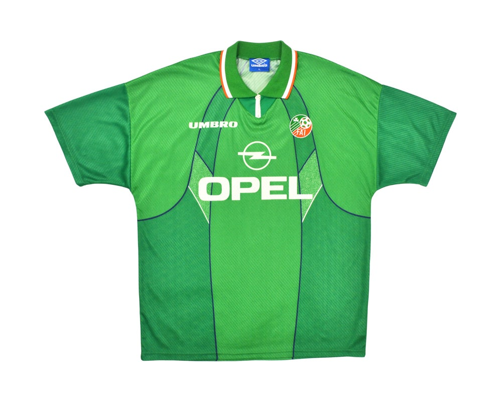 Image of 1994-95 Umbro Ireland Home Shirt XL