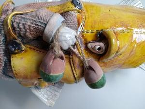 The Trawler Man. Character fish